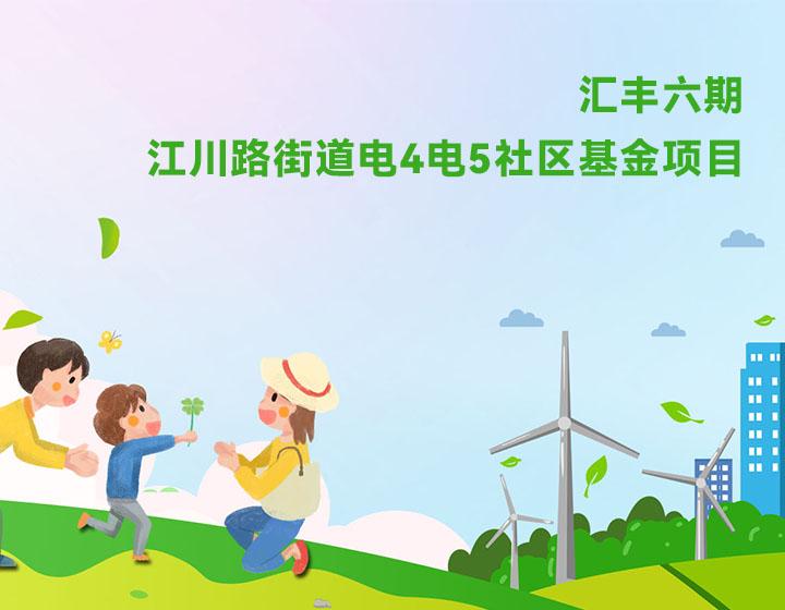 汇丰六期——江川路街道电4电5社区基金项目